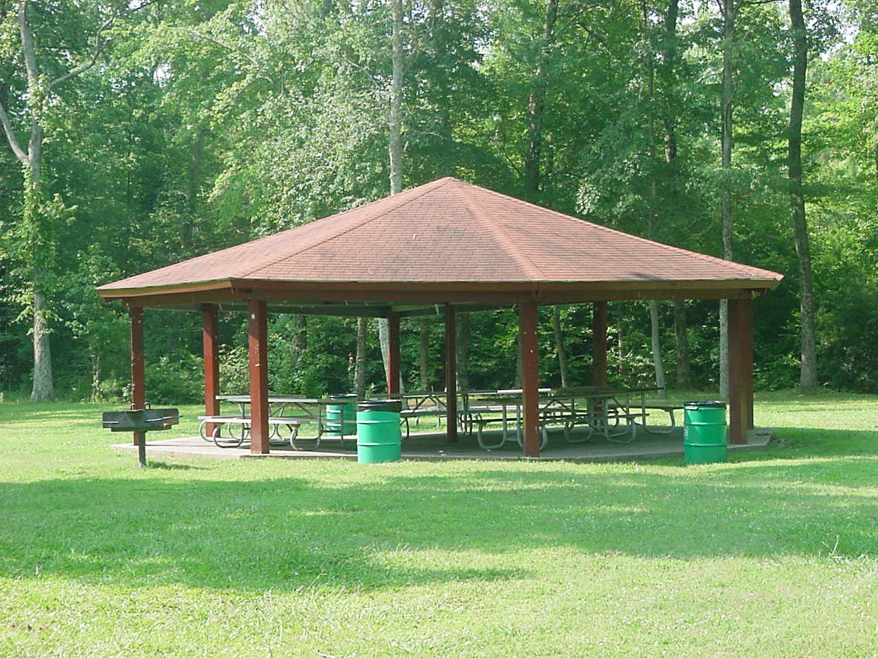 Small Park Shelters : Lee county government departments parks recreation
