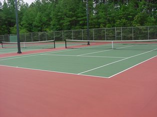 Tennis Courts OT Sloan